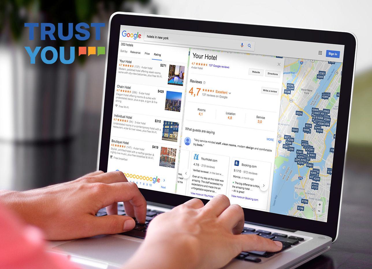 TrustYou - nástroj pro kontrolu online recenzí hotelu